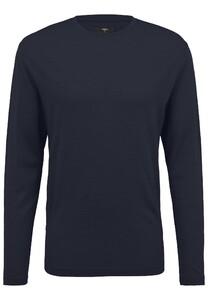 Fynch-Hatton O-Neck Longsleeve Merino T-Shirt Navy