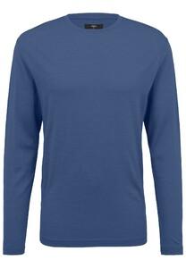 Fynch-Hatton O-Neck Longsleeve Merino T-Shirt Night