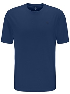Fynch-Hatton O-Neck Uni Cotton T-Shirt Midnight