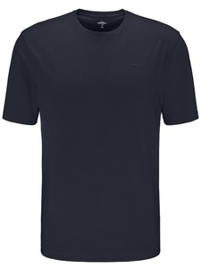 Fynch-Hatton O-Neck Uni Cotton T-Shirt Navy