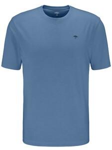 Fynch-Hatton O-Neck Uni Cotton T-Shirt Pacific