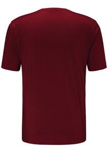 Fynch-Hatton O-Neck Uni T-Shirt Merlot