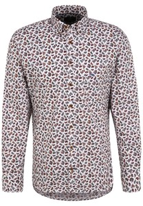 Fynch-Hatton Paisley Button Down Overhemd Multicolor