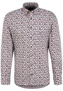 Fynch-Hatton Paisley Button Down Shirt Multicolor