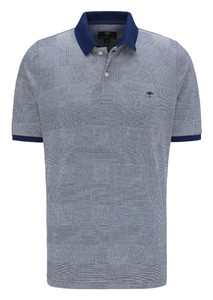 Fynch-Hatton Polo Check Polo Midnight