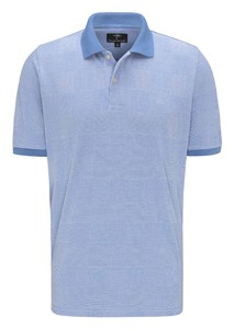 Fynch-Hatton Polo Check Polo Pacific