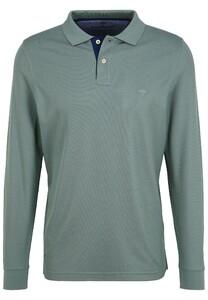 Fynch-Hatton Polo Longsleeve Poloshirt Lindgreen