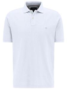 Fynch-Hatton Polo Uni Cotton Poloshirt White