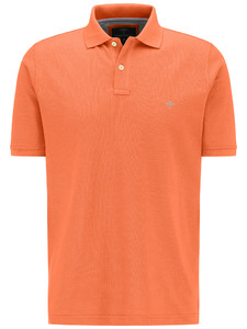 Fynch-Hatton Poloshirt Cotton Uni Poloshirt Mandarin