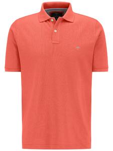 Fynch-Hatton Poloshirt Cotton Uni Poloshirt Watermelon