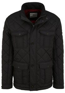 Fynch-Hatton Quilted Fieldjacket Jack Charcoal