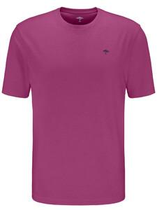 Fynch-Hatton Ronde Hals T-Shirt T-Shirt Blossom