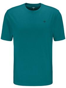 Fynch-Hatton Ronde Hals T-Shirt T-Shirt Caribbean