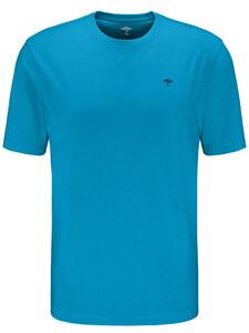 Fynch-Hatton Ronde Hals T-Shirt T-Shirt Crystalblue
