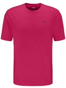 Fynch-Hatton Ronde Hals T-Shirt T-Shirt Fruit Pink