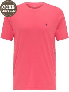 Fynch-Hatton Ronde Hals T-Shirt T-Shirt Hibiscus
