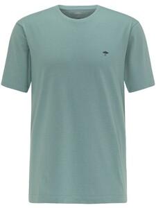 Fynch-Hatton Ronde Hals T-Shirt T-Shirt Lindgreen