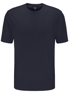 Fynch-Hatton Ronde Hals T-Shirt T-Shirt Navy