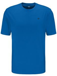 Fynch-Hatton Ronde Hals T-Shirt T-Shirt Royal
