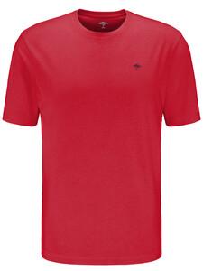 Fynch-Hatton Ronde Hals T-Shirt T-Shirt Sangria