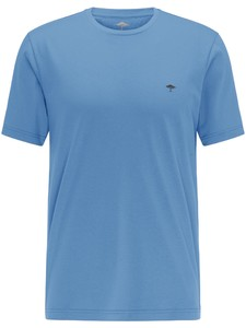 Fynch-Hatton Ronde Hals T-Shirt T-Shirt Sky