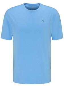 Fynch-Hatton Ronde Hals T-Shirt T-Shirt Soda