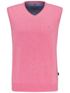 Fynch-Hatton Slipover Uni V-Neck Slip-Over Cotton Candy
