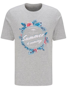 Fynch-Hatton Summer Is Coming T-Shirt Silver
