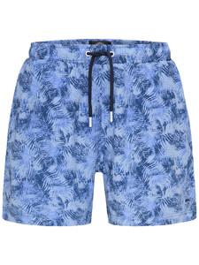 Fynch-Hatton Swim Shorts Palm Leaf Swim Short Blauw