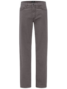 Fynch-Hatton Tanzania 5-Pocket Minimal Print Broek Ashgrey