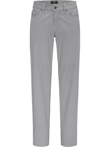Fynch-Hatton Tanzania Gabardine Fade Out Broek Licht Grijs