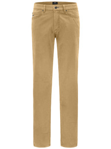 Fynch-Hatton Tanzania Summer Pima Power Stretch Broek Mosterd