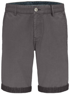 Fynch-Hatton Uni Bermuda Garment Dyed Bermuda Asphalt