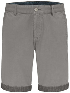 Fynch-Hatton Uni Bermuda Garment Dyed Bermuda Cool Grey