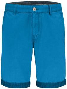 Fynch-Hatton Uni Bermuda Garment Dyed Bermuda Crystalblue
