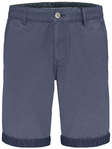 Fynch-Hatton Uni Bermuda Garment Dyed Bermuda Pacific