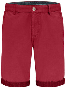 Fynch-Hatton Uni Bermuda Garment Dyed Bermuda Sangria