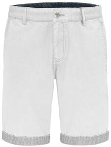 Fynch-Hatton Uni Bermuda Garment Dyed Bermuda Wit
