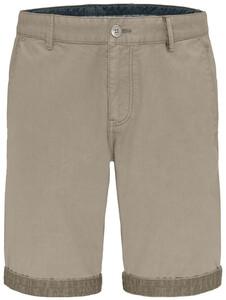 Fynch-Hatton Uni Bermuda Garment Dyed Bermuda Zand