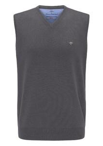 Fynch-Hatton Uni Cotton Slipover Slip-Over Ashgrey
