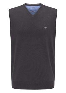 Fynch-Hatton Uni Cotton Slipover Slip-Over Charcoal
