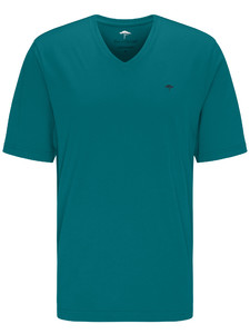 Fynch-Hatton V-Neck T-Shirt T-Shirt Caribbean