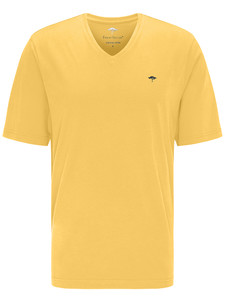 Fynch-Hatton V-Neck T-Shirt T-Shirt Citron
