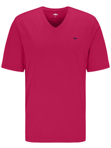 Fynch-Hatton V-Neck T-Shirt T-Shirt Fruit Pink