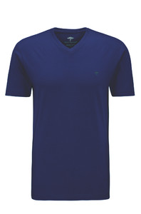 Fynch-Hatton V-Neck T-Shirt T-Shirt Midnight