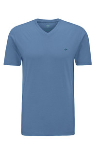 Fynch-Hatton V-Neck T-Shirt T-Shirt Pacific