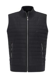 Fynch-Hatton Vest Nylon Details Body-Warmer Black