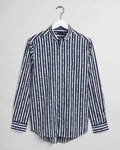 Gant 1949 Striped Fantasy Overhemd Classic Blue