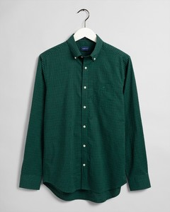 Gant 2 Color Gingham Shirt Leaf Green