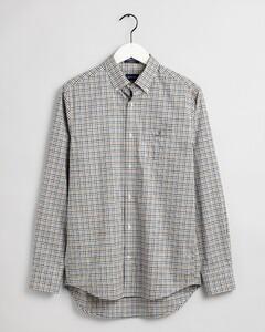 Gant 3 Color Gingham Check Shirt Strong Blue